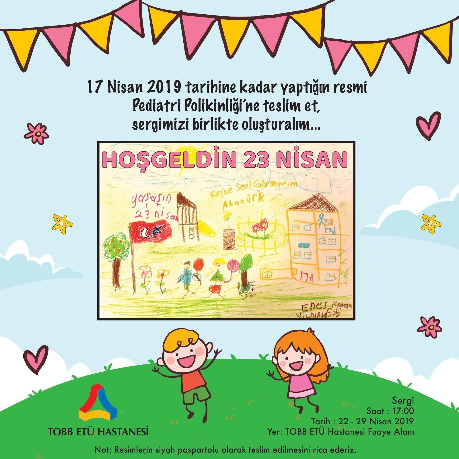 23 Nisan Ulusal Egemenlik ve Çocuk Bayramı Sergisi