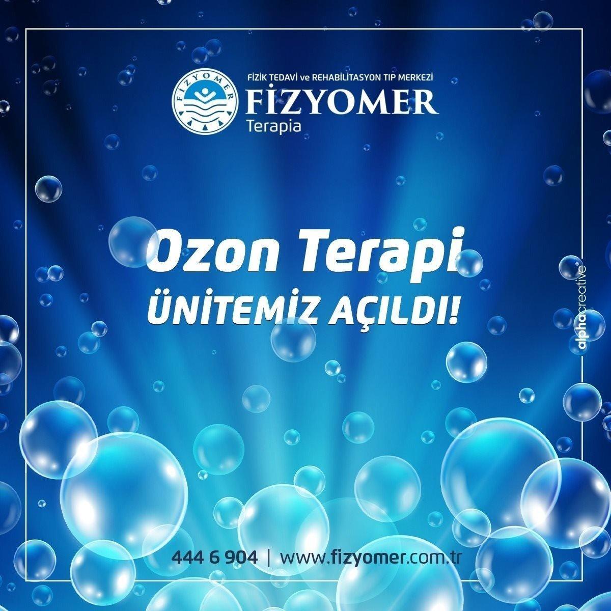 Ozon Terapi Unitemiz Açıldı