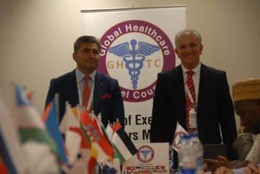 PROUD & HAPPY FACES  of  GHTC FROM IMTEC 2015 DUBAI BOARD MEETING