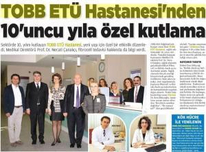 www.tobbetuhastanesi.com.tr 10. Yıla Özel Kutmala 10 yıldır sağlık sektöründe verdiğimiz hizmetlerle yanınızda olmaktan gurur duyuyor ve sizlere şükranlarımızı sunuyoruz.