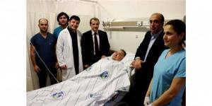 Prostat kanseri tanısıyla hastaneye yatırılan bir kişi, Sakarya'da ilk defa uygulanan robotik cerrahi müdahaleyle sağlığına kavuştu. http://www.milliyet.com.tr/sakarya-da-robotlu-ilk-ameliyat-sakarya-yerelhaber-605583/
