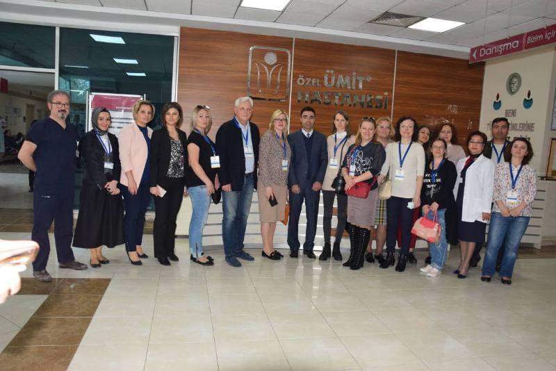 Ukrayna'dan gelip sağlıktaki gelişime hayran kaldılar
