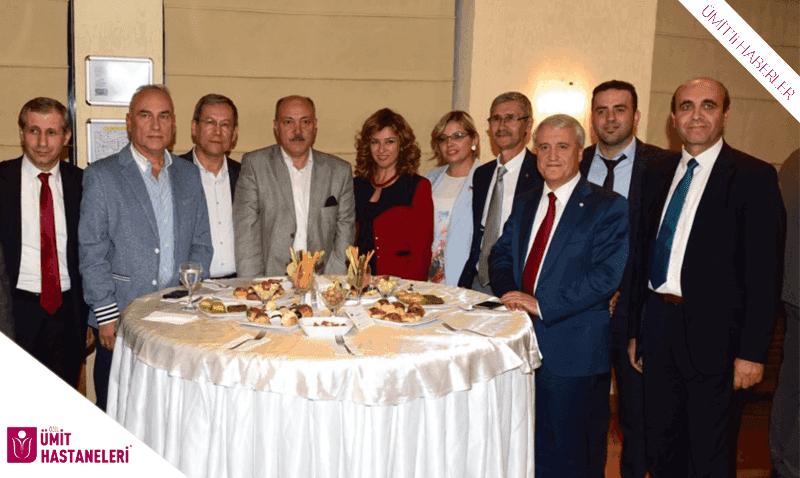 Rektör Gündoğan'dan Özel Ümit Hastaneleri'ne plaket