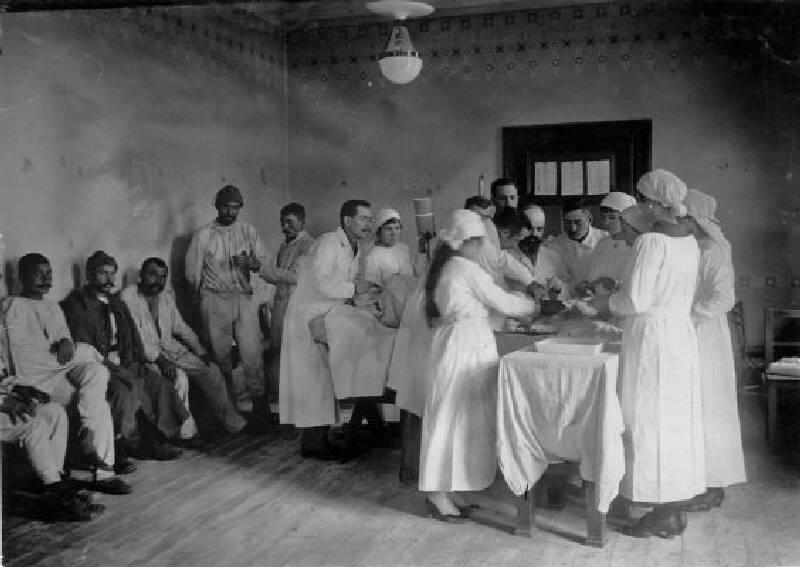 Birinci Dünya Savaşı Anılarında Hastalıklar ve Tedavileri