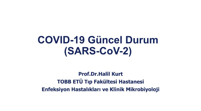 COVİD-19 Hastalığı Sunum