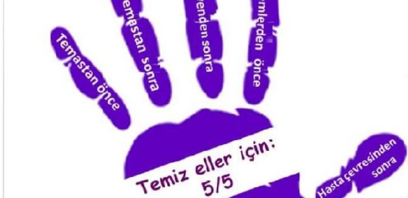 """Sağlığın anahtarı ellerimiz...5 Mayıs """"Dünya El Hijyeni Günü""""nüz kutlu olsun."""