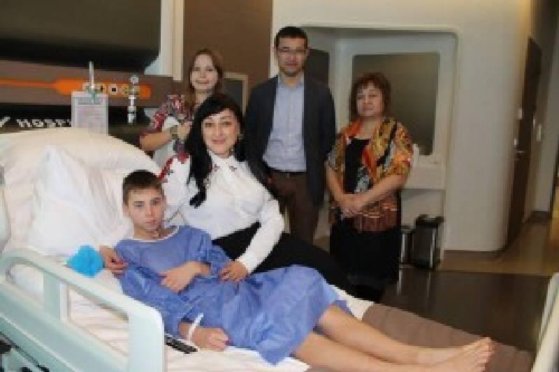 При поддержке Турецкой Ассоциации Медицинского Туризма в турецкой клинике «LIV»была проведена благотворительная операция мальчику из детского дома.