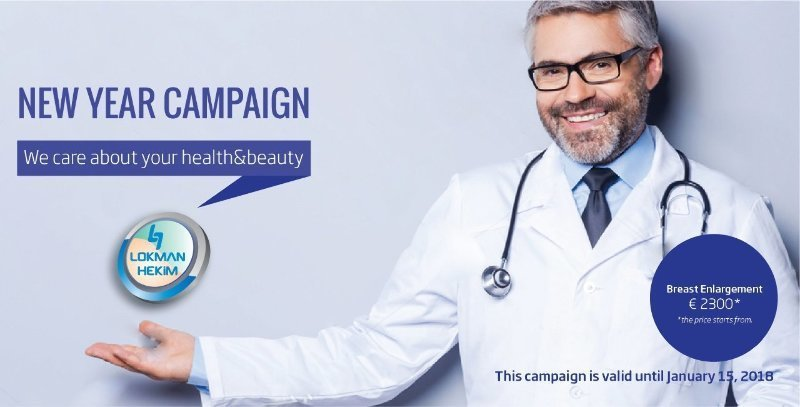Plastic Surgery New Year Campaign