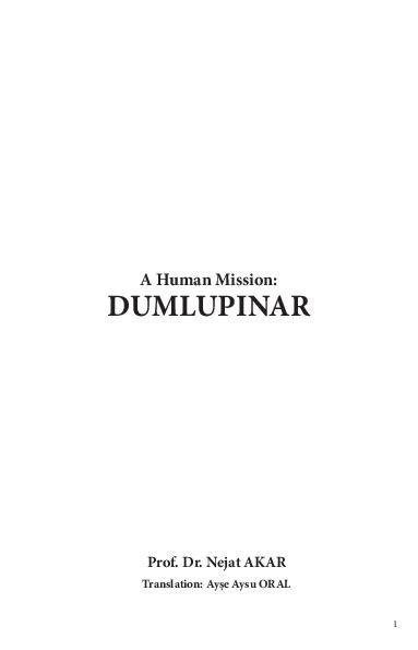 A Human Mission : Dumlupınar