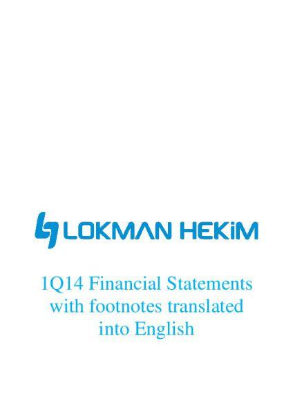 Finansal Report